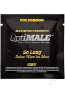 Optimale So Long Delay Wipes (10 Pack)