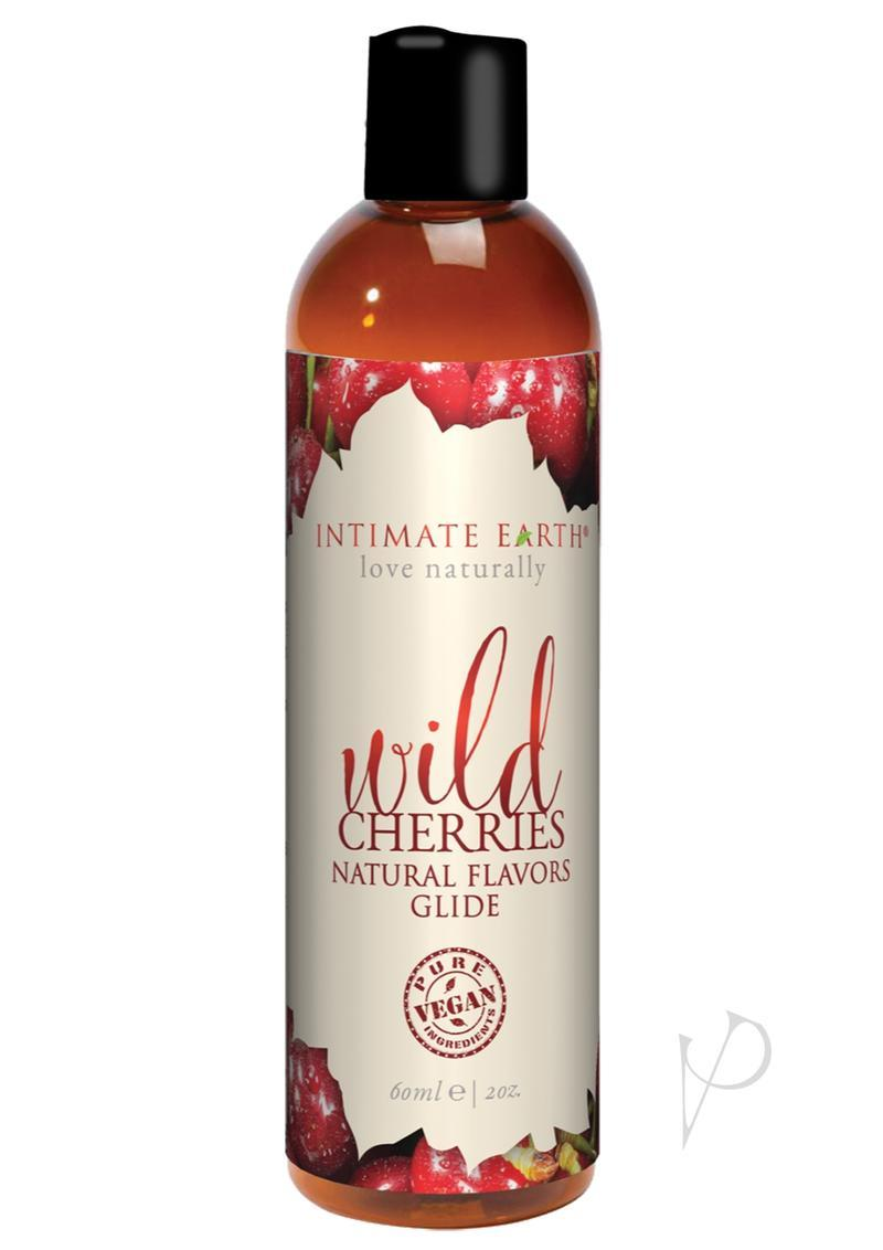 Intimate Earth Oral Pleasure Glide Lubricant Wild Cherries 2oz