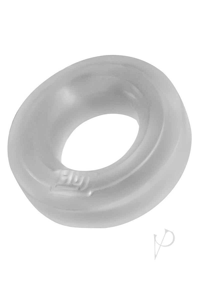 Hunkyjunk Huj Silicone Cock Ring - Clear